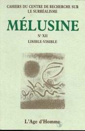 Melusine 12 Lisible-Visible - Couverture - Format classique