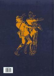 Zoulouland ; intégrale t.5 ; chronique de la mort d'un prince - 4ème de couverture - Format classique