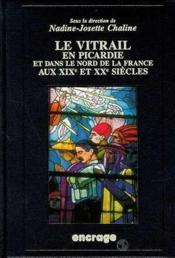 Vitrail En Picardie - Couverture - Format classique