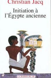 Initiation à l'Egypte ancienne - Intérieur - Format classique
