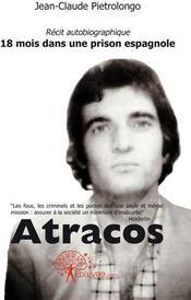 Atracos - Couverture - Format classique