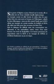 La guerre d'Algérie et la République Démocratique Allemande ; le rôle de