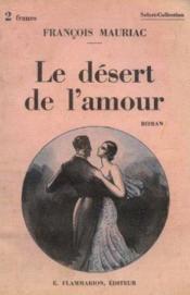 Le désert de l'amour - Couverture - Format classique