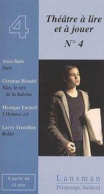 Théâtre à lire et à jouer t.4 - Couverture - Format classique