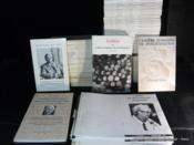 Cahiers de psychologie jungienne. Cahiers jungiens de psychanalyse. N°1-3-4-5-7-8-11-13-16-21-25-27 sous forme de photocopies reliées au numéro. Suivent les cahiers 2-6-9-10-12-14-17-18-19-23-26-28-29-30-31 à 40, 42 à 59, 61 à 82, 84 à 112. Joint le hors-série