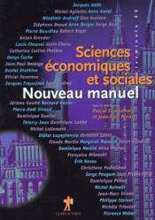 Nouveau Manuel De Sciences Economiques Et Sociales Terminale Es - Couverture - Format classique