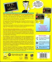 Le Pc Pour Les Nuls - 4ème de couverture - Format classique