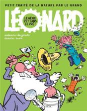 Léonard ; le génie est dans le pré ! petit traité de la nature par le grand Léonard - Couverture - Format classique