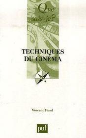 Techniques du cinéma - Intérieur - Format classique