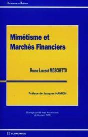 Mimetisme Et Marches Financiers - Couverture - Format classique