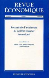 Revue Economique N.52 ; T.2 - Couverture - Format classique