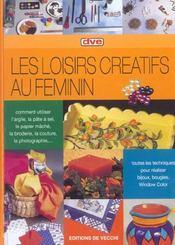Loisirs Creatifs Au Feminin - Intérieur - Format classique