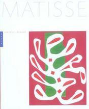 Matisse (nouvelle edition) - Intérieur - Format classique