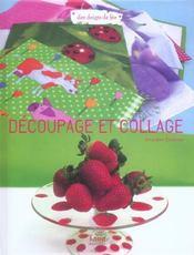 Decoupage Et Collage - Intérieur - Format classique