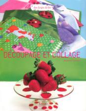 Decoupage Et Collage - Couverture - Format classique