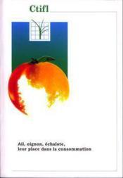 Ail oignon echalote rapportetudes ref 31001 - Couverture - Format classique