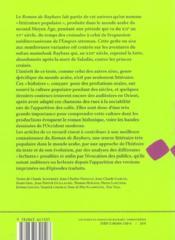 Lectures Du Roman De Baybars - 4ème de couverture - Format classique
