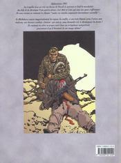 Afghanistan - 4ème de couverture - Format classique