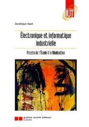 Electronique et informatique industr - Couverture - Format classique