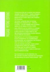 Atteintes Sexuelles Tome 1 - 4ème de couverture - Format classique