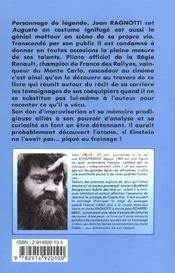 Jean ragnotti - 4ème de couverture - Format classique