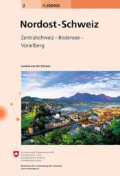 Carte nationale Suisse t.2 - Couverture - Format classique