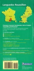 Le Guide Vert ; Languedoc, Roussillon - 4ème de couverture - Format classique