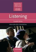 Rbt: Listening - Couverture - Format classique