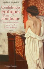 Confidences érotiques d'une courtisane - Couverture - Format classique