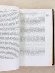 Cours d'histoire ecclésiastique à l'usage des grands séminaires ( 3 tomes - complet ) - Couverture - Format classique