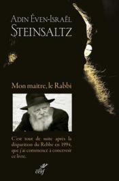 Mon maître, le Rabbi - Couverture - Format classique