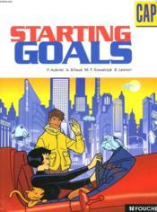 Cap ; Starting Goals - Couverture - Format classique