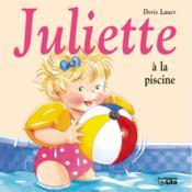 Juliette à la piscine - Couverture - Format classique
