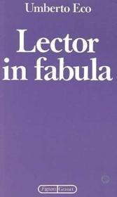 Lector in fabula - Couverture - Format classique