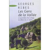 Les Gens De La Vallee - Couverture - Format classique