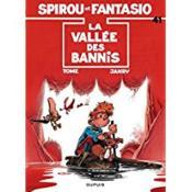 Les aventures de Spirou et Fantasio T.41 ; la vallée des bannis - Couverture - Format classique