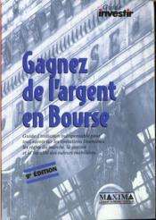 Gagnez De L'Argent En Bourse - Couverture - Format classique