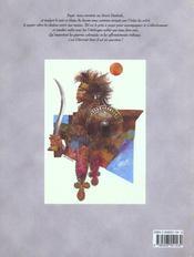 Bande dessinee t3 l'obelisque abyssin - 4ème de couverture - Format classique