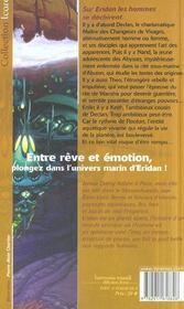 Eridan - 4ème de couverture - Format classique