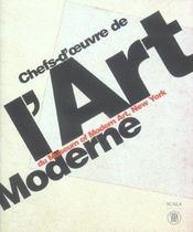 Chefs-d'oeuvre de l'art moderne du museum of modern art, new york - Intérieur - Format classique