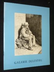 Aquarelles et dessins français du XIXe siècle. Catalogue de l'exposition réalisée à la Galerie Delestre du 26 mai au 30 juin 1981 - Couverture - Format classique