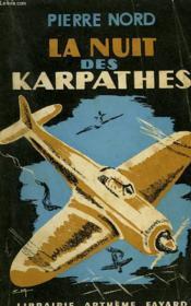 La Nuit Des Karpathes. - Couverture - Format classique
