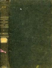 LE MEUBLE, TOME II, XVIIe, XVIIIe ET XIXe SIECLES - Couverture - Format classique