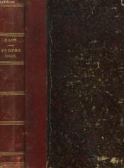 Propos D'Exil - Couverture - Format classique