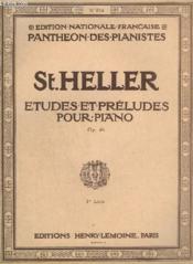 Etudes Et Preludes Pour Piano N°874 - Op.46 : 30 Etudes Progressives - Livre 1. - Couverture - Format classique