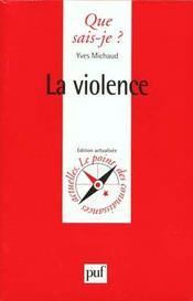 Violence (la) - Intérieur - Format classique
