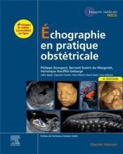 Échographie en pratique obstétricale (6e édition) - Couverture - Format classique