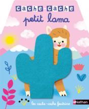 CACHE-CACHE ; petit lama - Couverture - Format classique