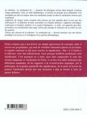 Fichte - 4ème de couverture - Format classique