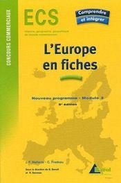 L'Union européenne en fiches - Intérieur - Format classique